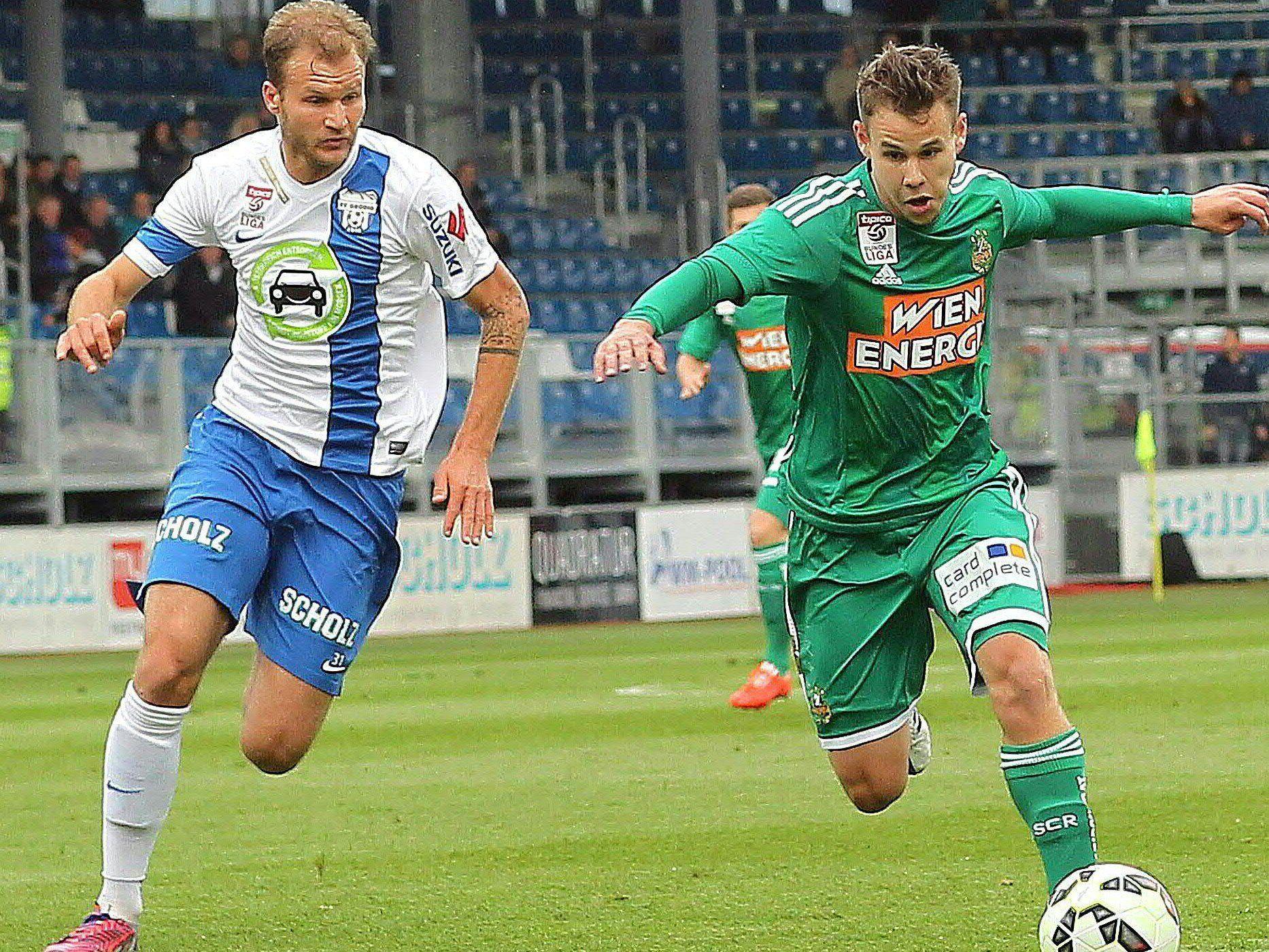 LIVE-Ticker zum Spiel SK Rapid Wien gegen SV Grödig ab 16.00 Uhr.