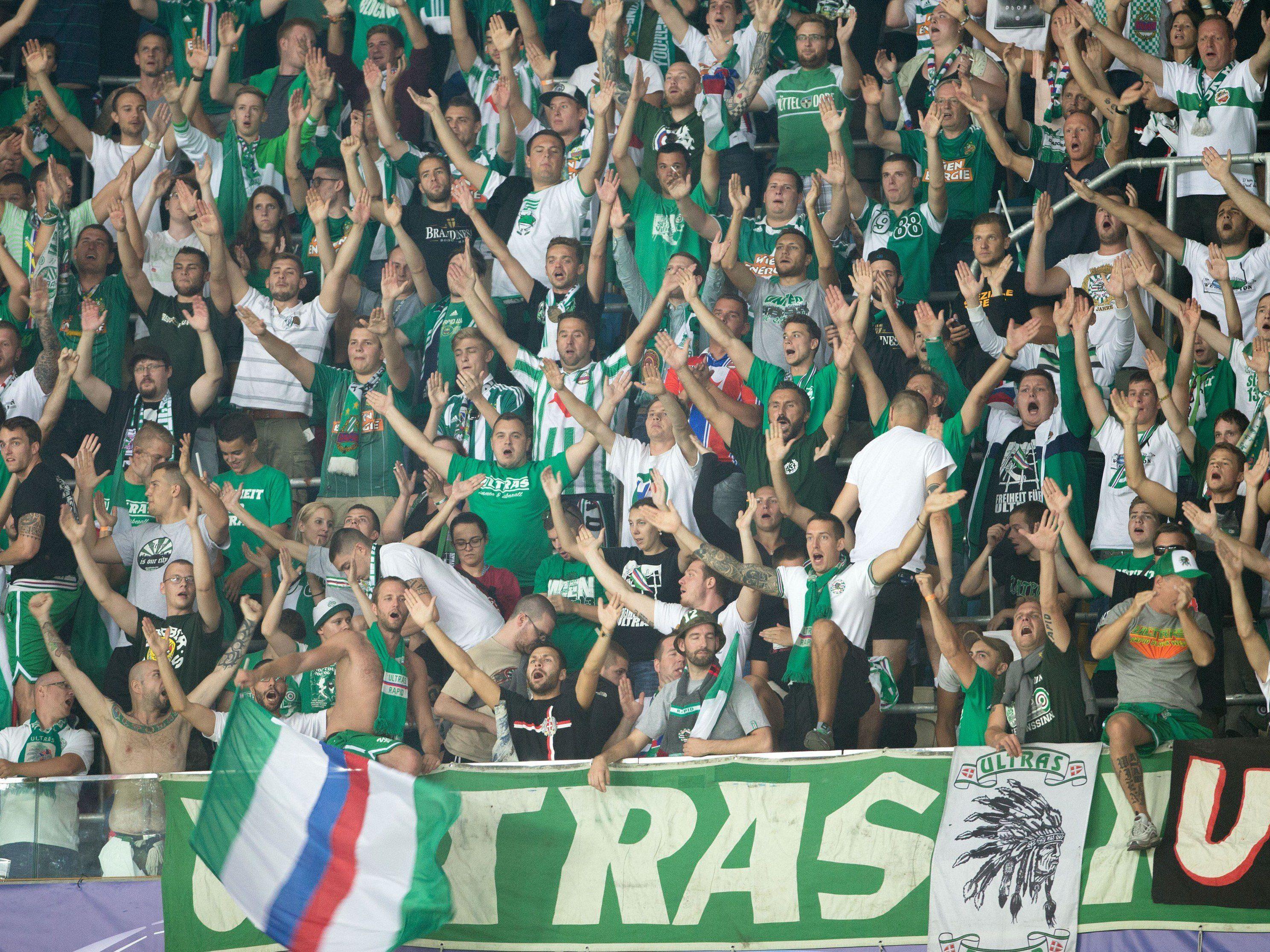 Infos rund um den Spielplan udn den Ticketvorverkauf dür Rapid Wien-Matches in der Europa League.
