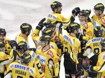 Die Vienna Capitals erlitten eine Niederlage