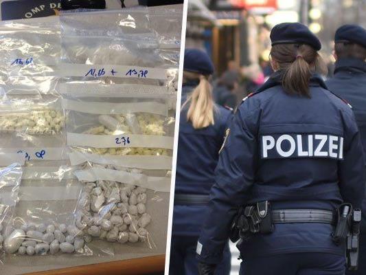 Hausdurchsuchung in Wien - Drogen sichergestellt, 16 Festnahmen