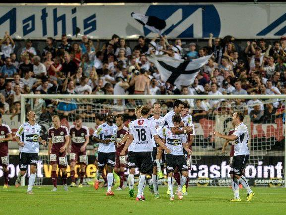 Altach jubelte heute über den ersten Sieg der neuen Saison.