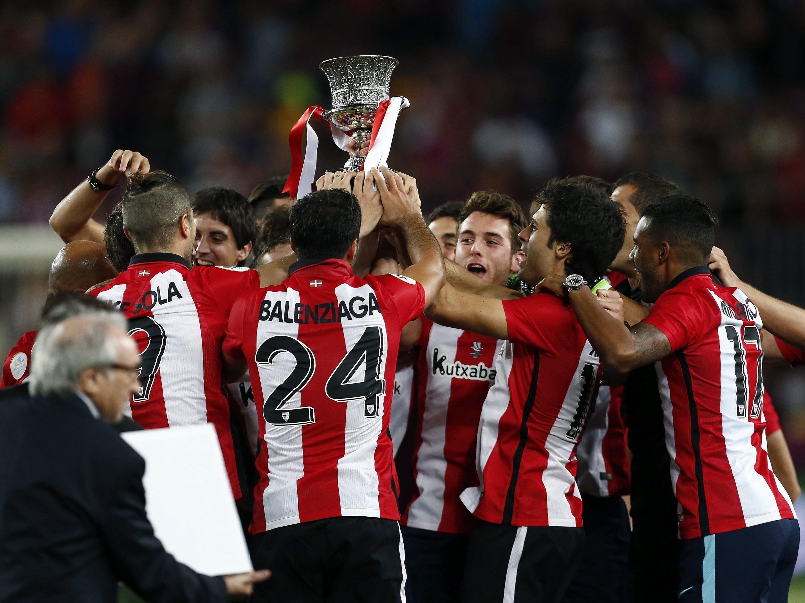 Athletic Bilbao freut sich über den ersten Titel seit 31 Jahren.
