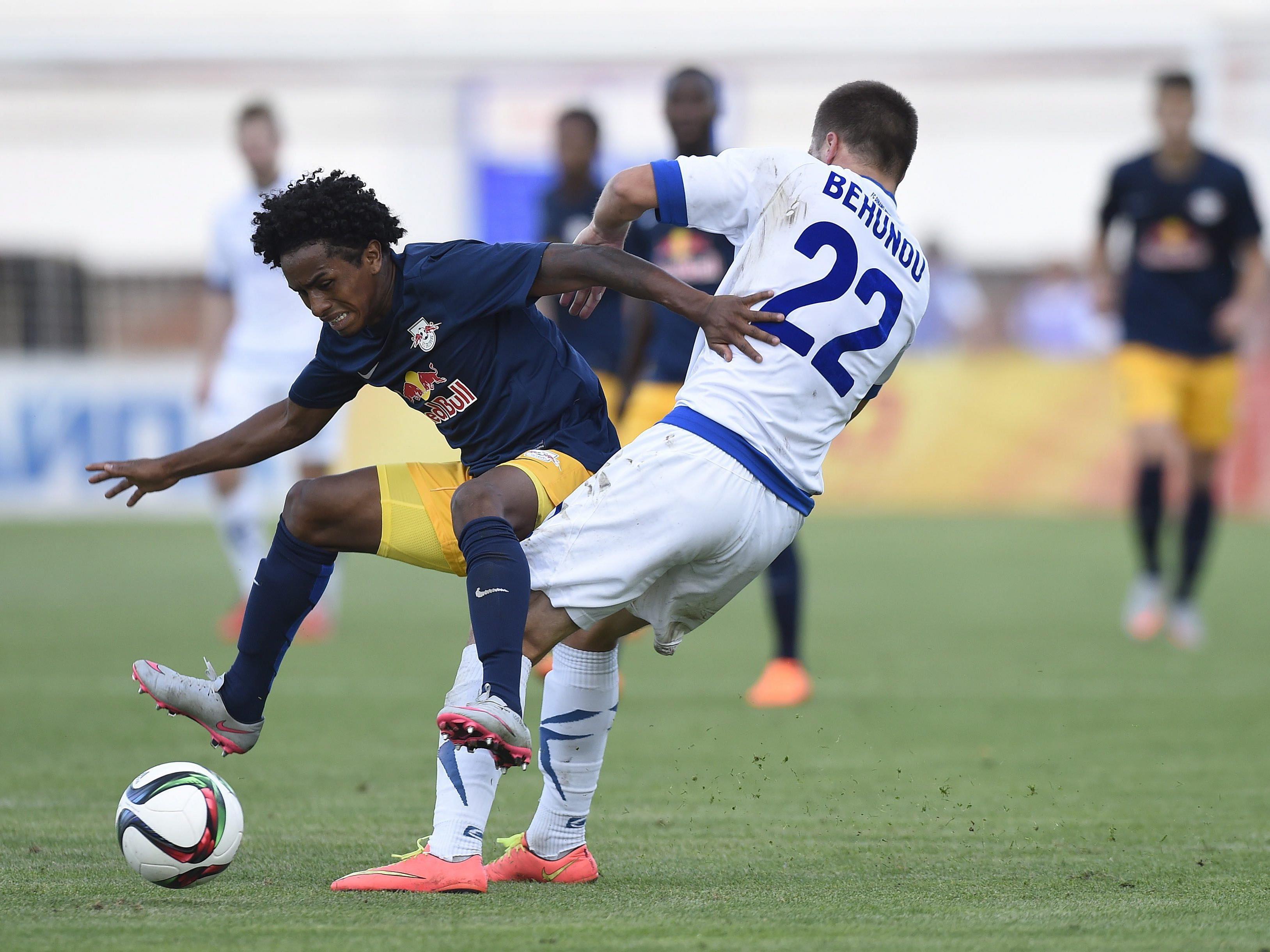 Salzburg musste am Donnerstagabend im Europa League-Play-Off eine 0:2-Schlappe hinnehmen.