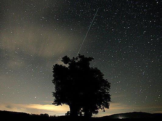 Die Sternschnuppen des Perseidenstroms sollen heuer gut zu sehen sein