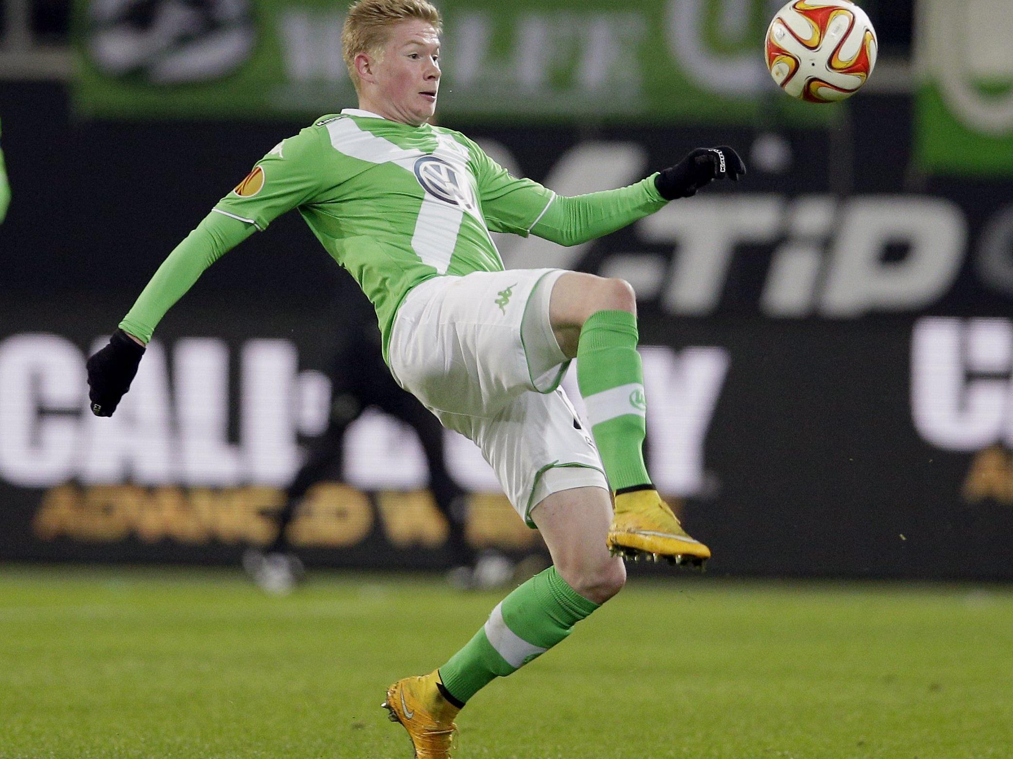 Derzeit herrscht viel Transfer-Aufregung um Wolfburgs Kevin De Bruyne.um
