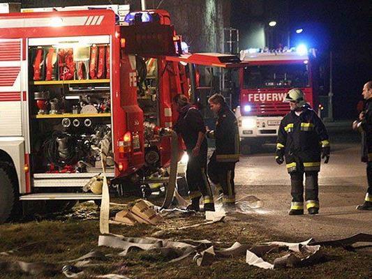 Die Feuerwehr im Einsatz in NÖ.