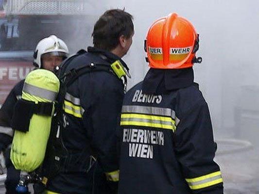 Zimmerbrand in Wien-Währing.