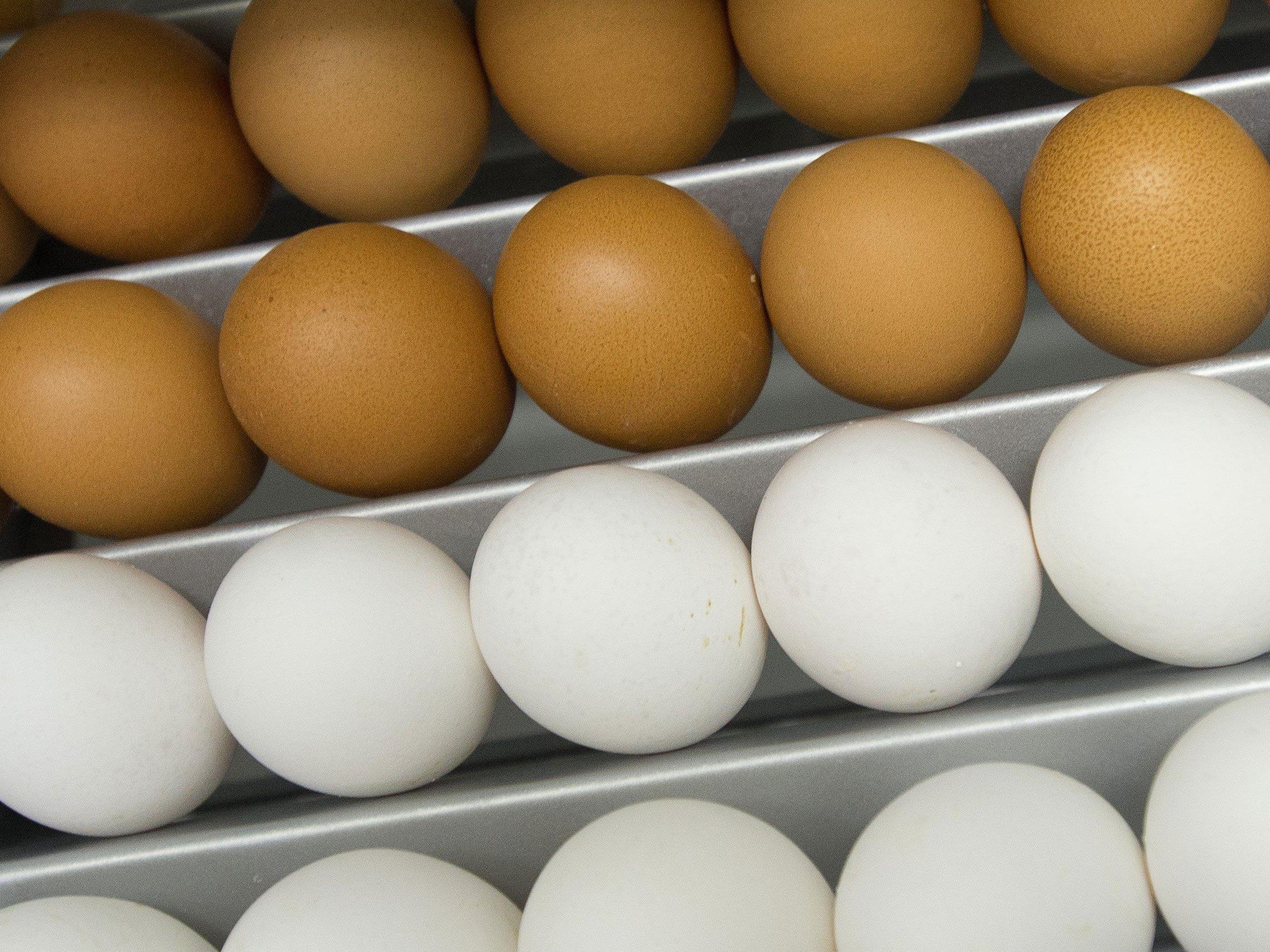 Spar ruft wegen Salmonellen-Verdachts seine Eier-Produkte zurück.