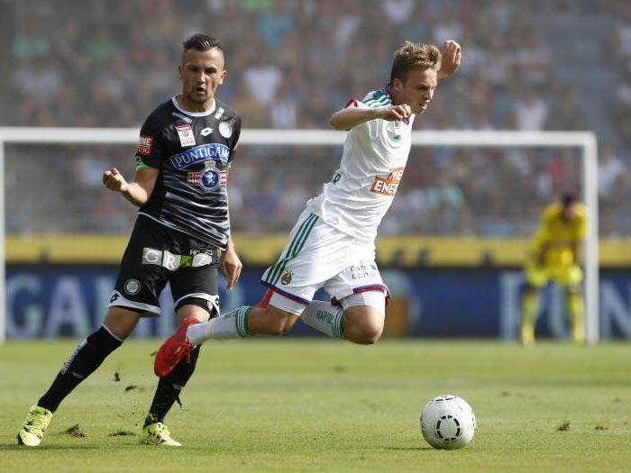 Sturm Graz brachte Rapid am Sonntag zum Taumeln.