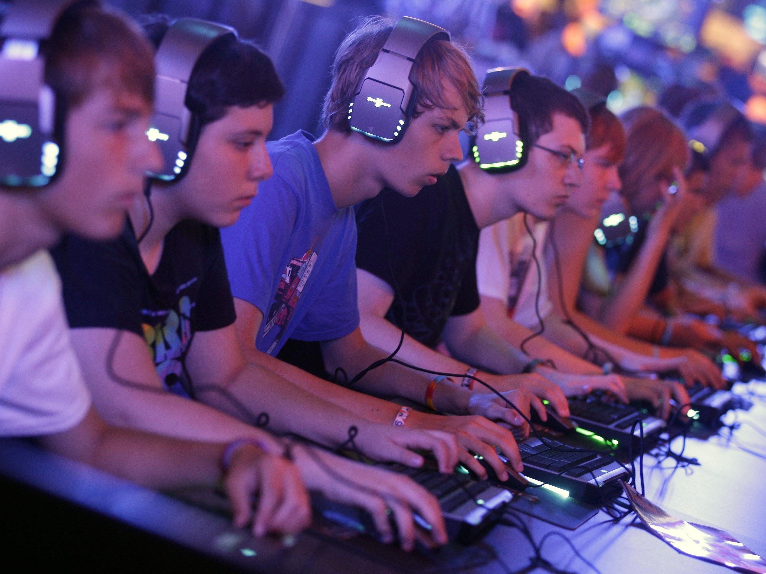 Gamescom15: Die Spielemessen in Köln ist eine der größten der Branche.