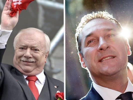 Häupl gegen Strache heißt es bei der Wien-Wahl 2015