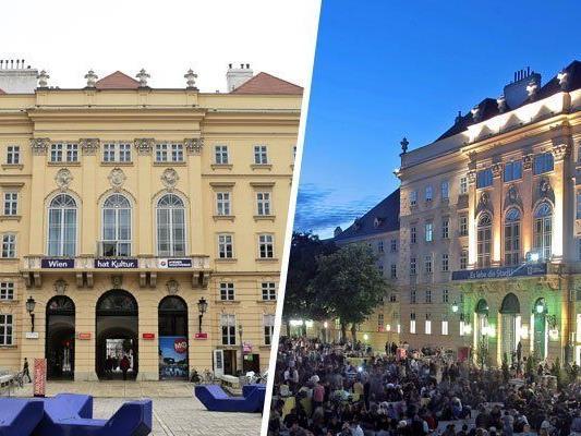 Es gibt ein neues Projekt im Wiener Museumsquartier.