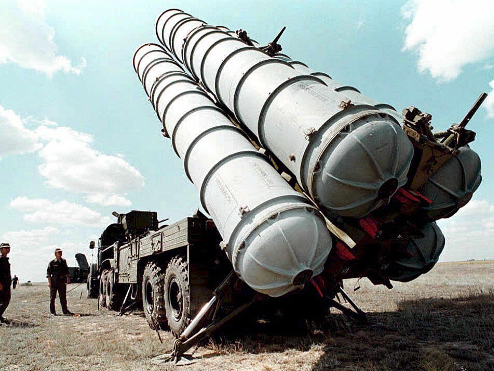 Ein Archivbild einer russischen S-300-Einheit.