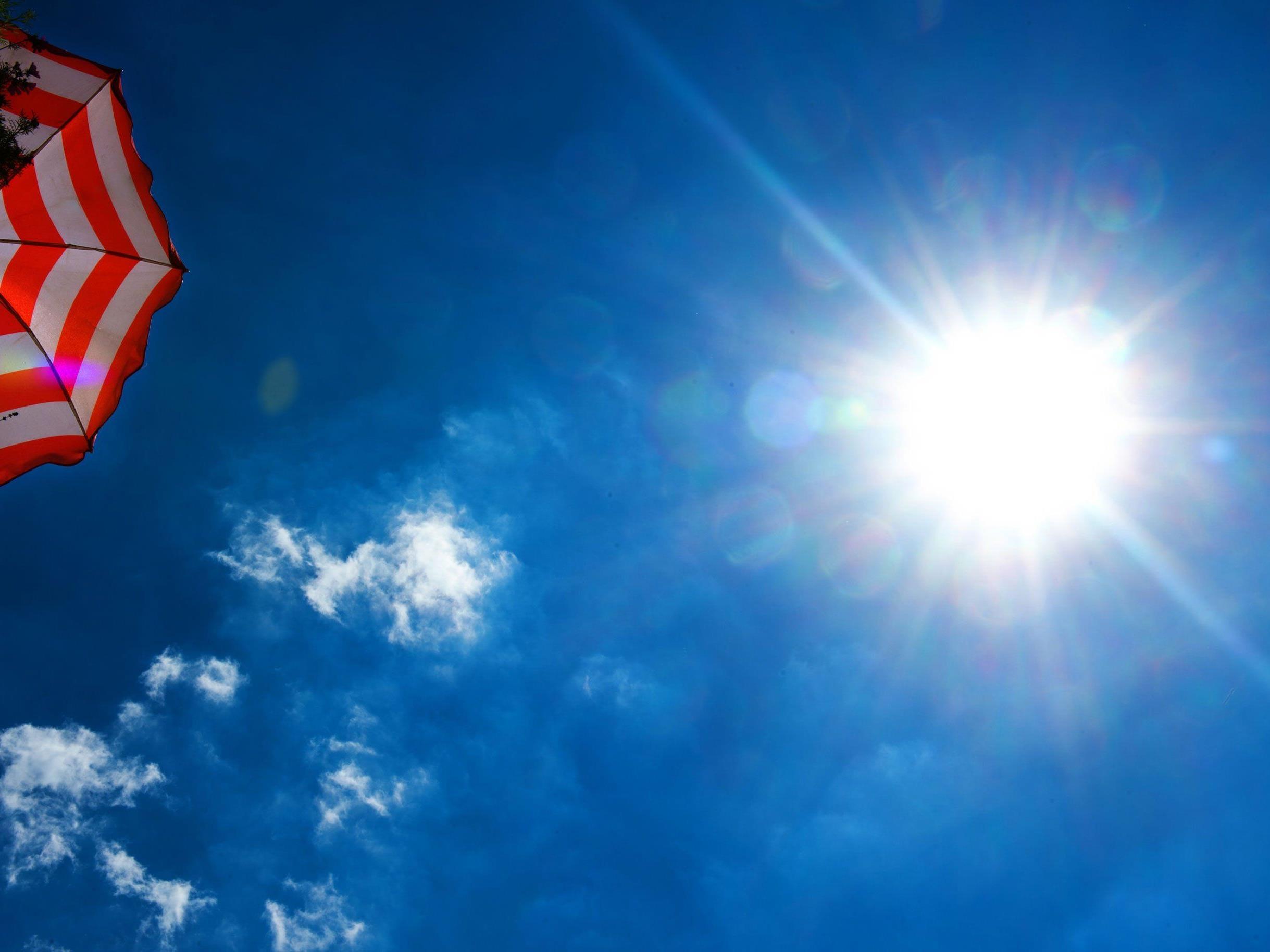 Die kommende Woche erwartet uns viel Sonnenschein.