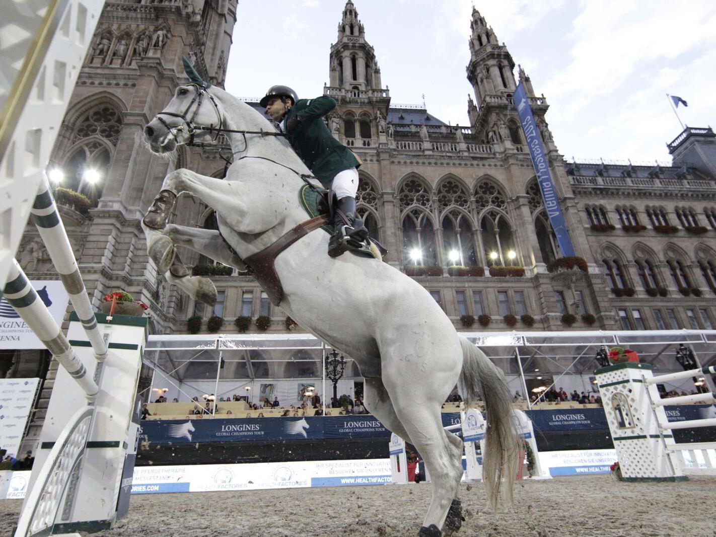 Das Vienna Masters findet von 17. bis 20. September auf dem Rathausplatz statt.