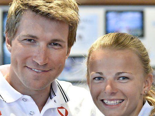 Thomas Zajac und Tanja Frank kommen immer besser in Schuss