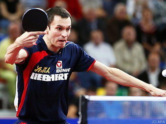Stefan Fegerl holte den entscheidenden dritten Punkt