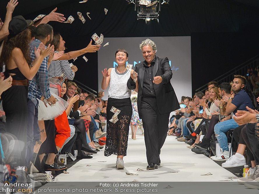 Eine gelungene Finalshow der Vienna Fashion Week