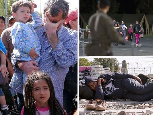 Der Flüchtlingsansturm nach Europa geht weiter