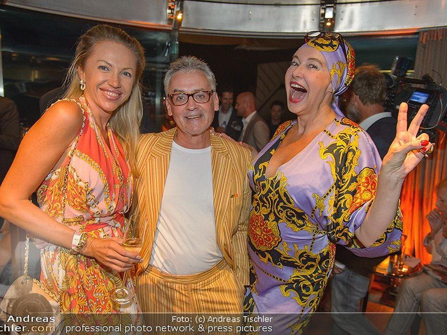 Christian & Ekaterina Mucha und Andrea Buday amüsierten sich prächtig im Haas Haus