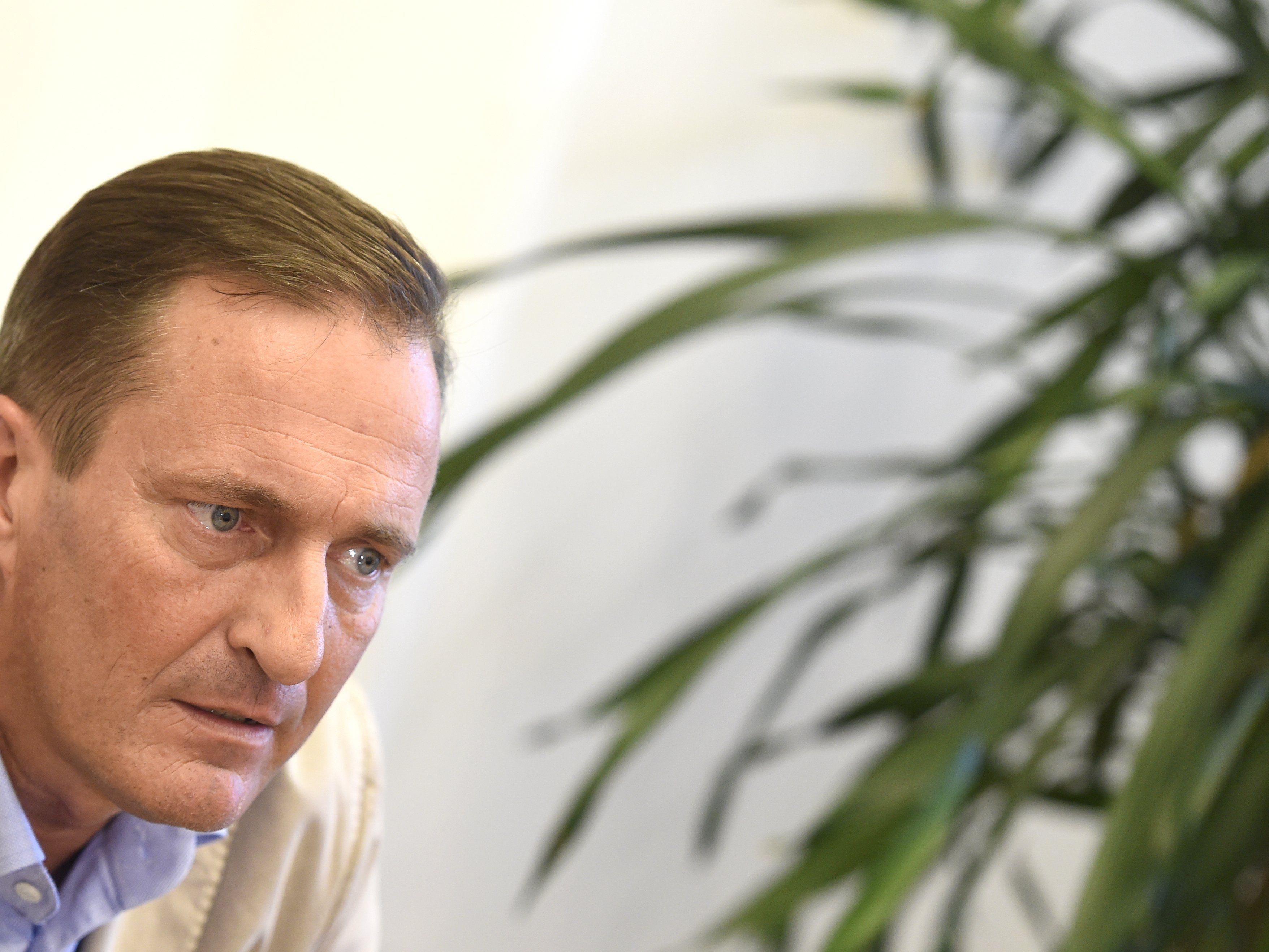 Manfred Jirazcka ist der ÖVP-Spitzenkandidat bei der Wien-Wahl 2015.