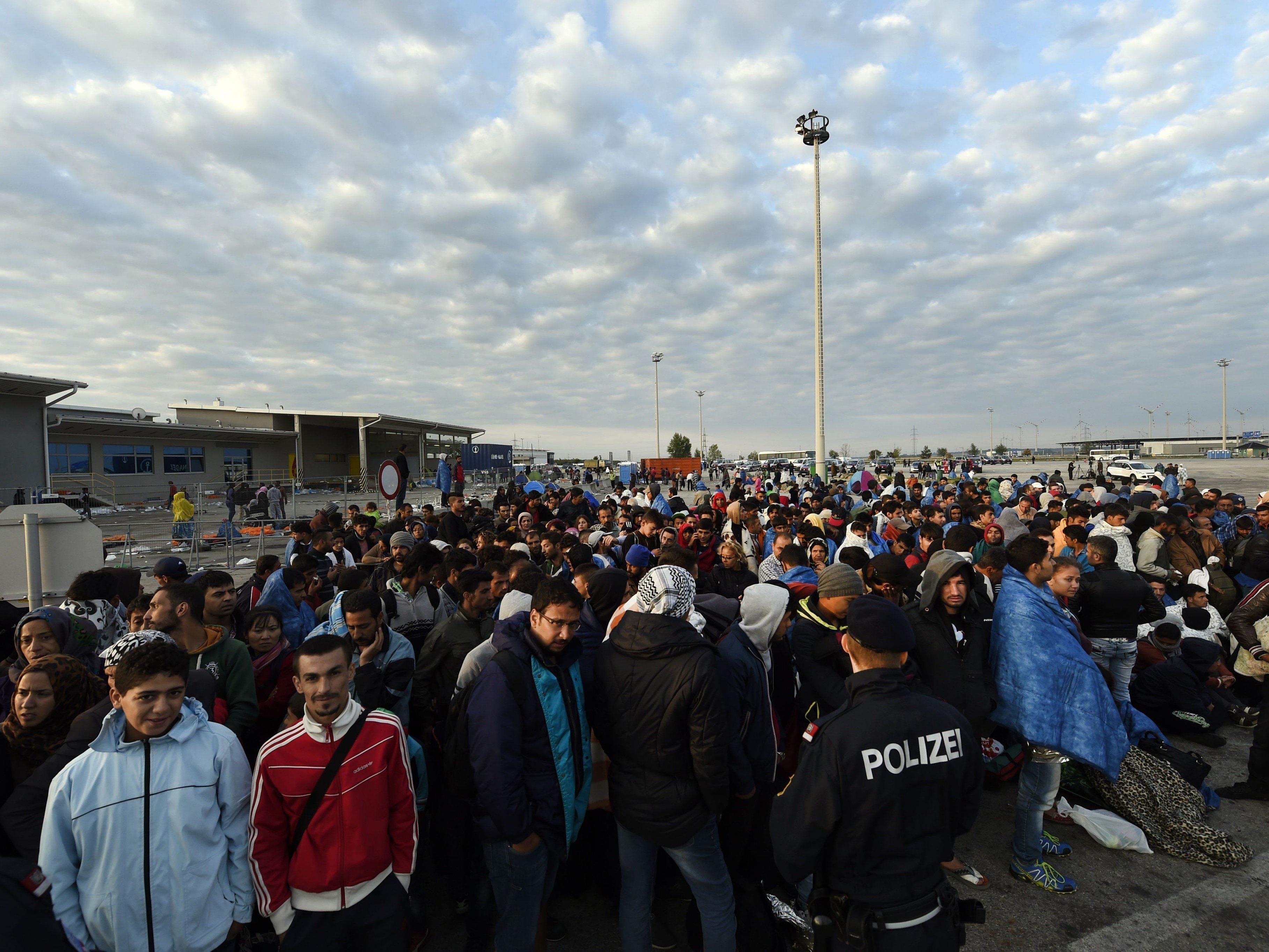 Weitere Flüchtlinge in Österreich erwartet