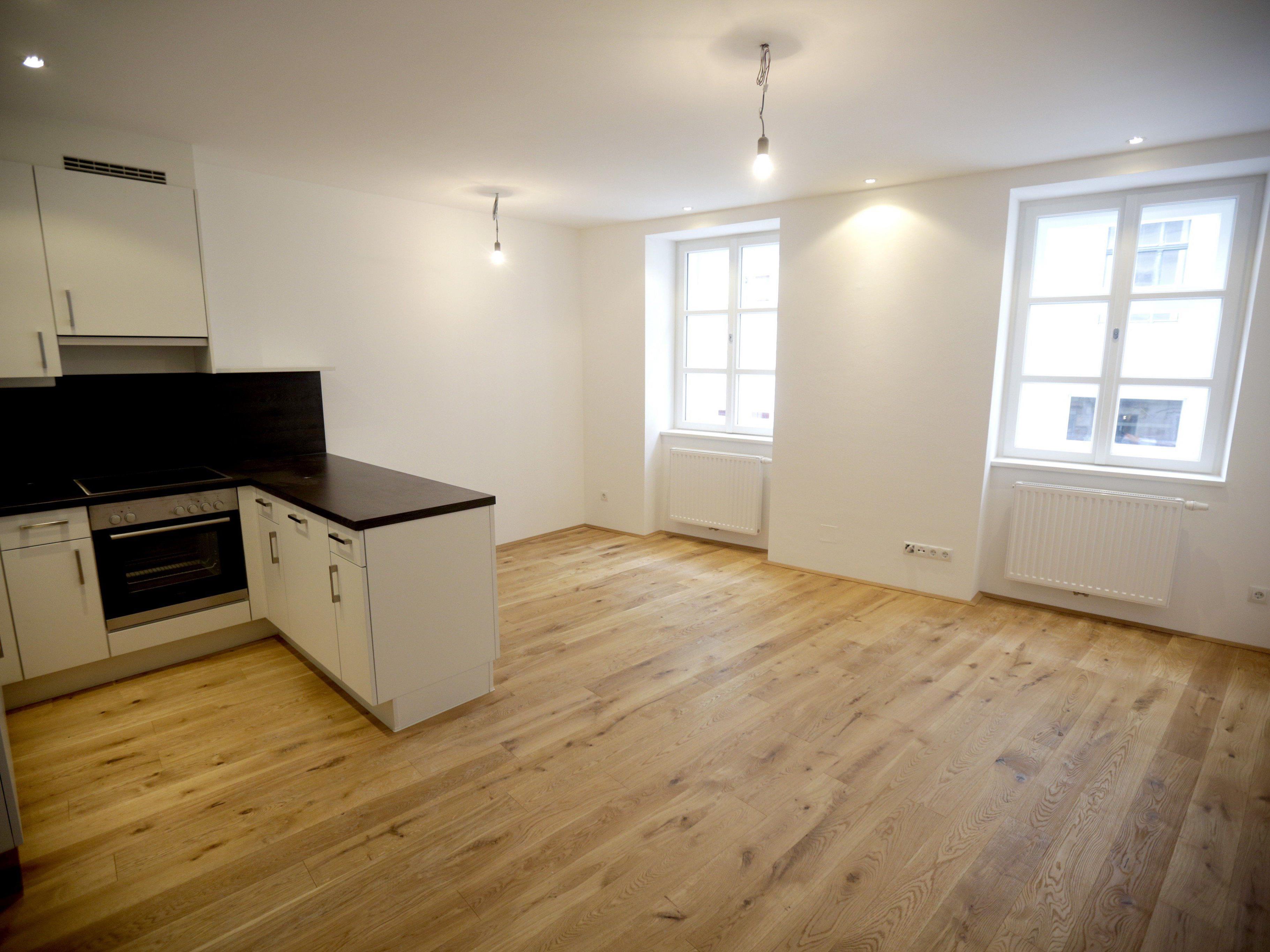 Wiens Wohnungsmieten sind im Juni nur unmerklich gestiegen.