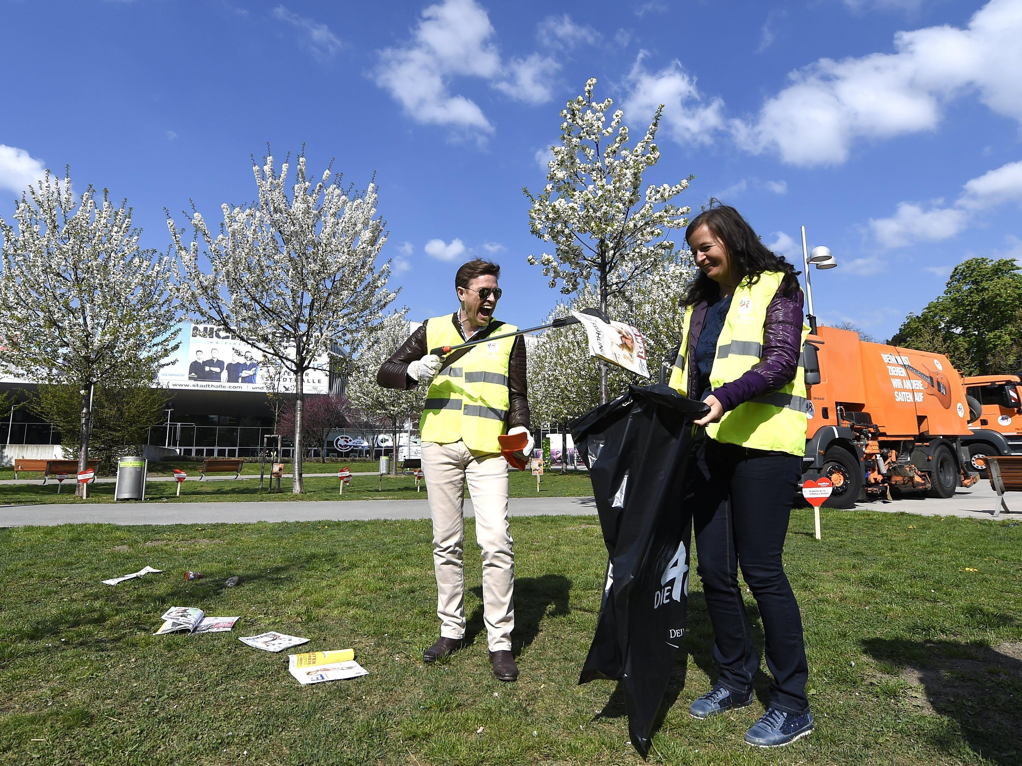 "Umweltstadträtin Ulli Sima lädt zum ""Wald der jungen WienerInnen""."