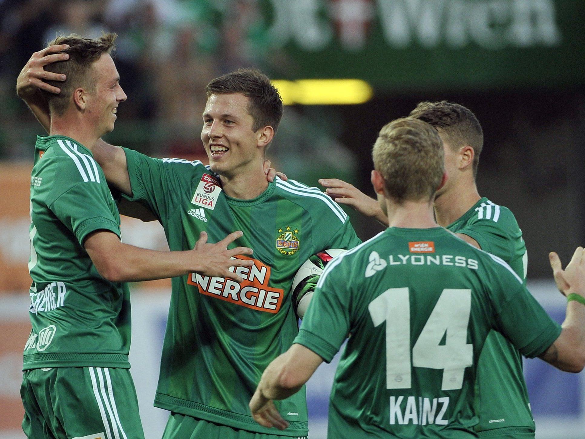LIVE-Ticker zum Spiel SCR Altach gegen SK Rapid Wien ab 16.00 Uhr.