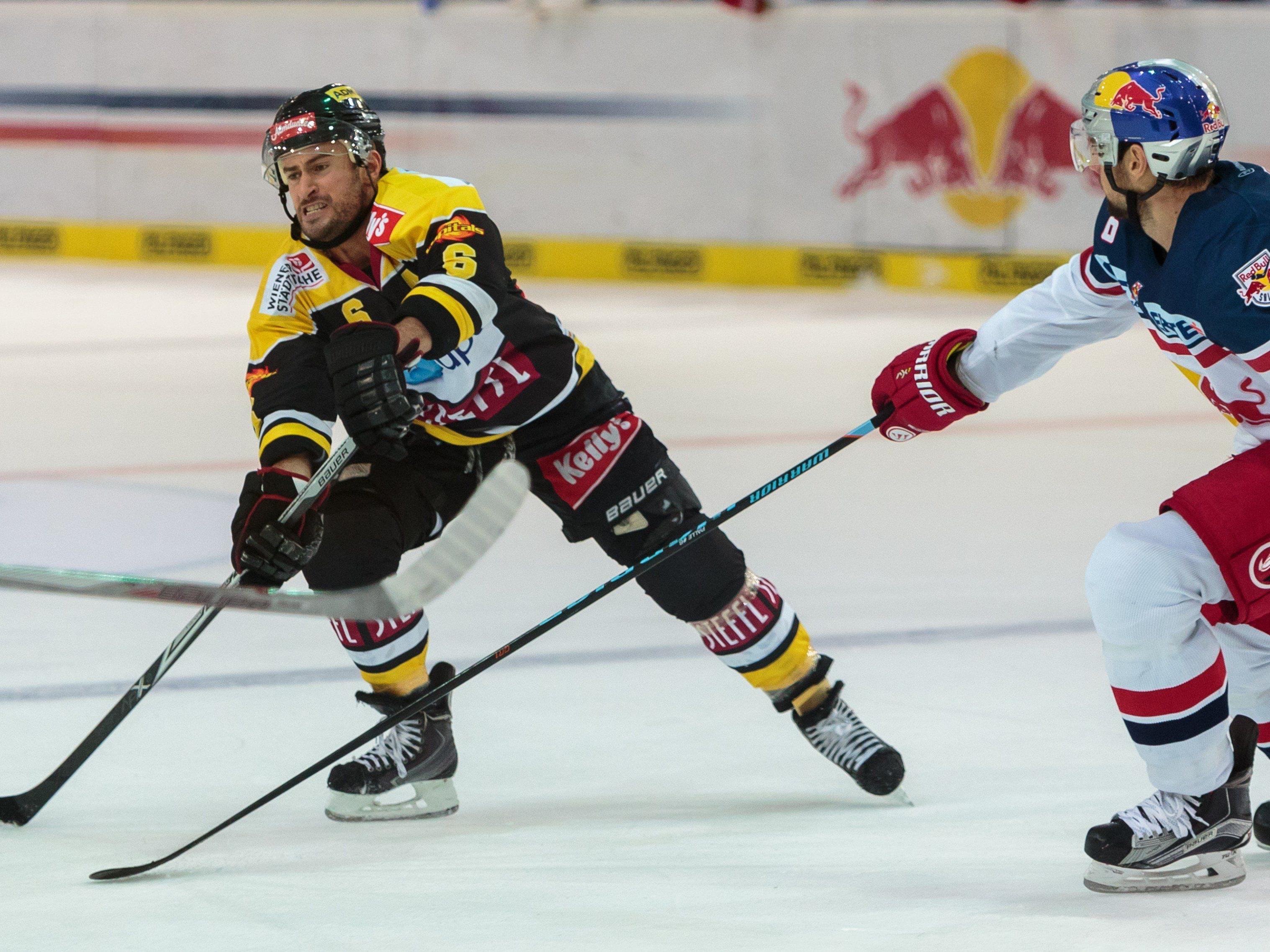 Vienna Capitals Spieler Rafael Rotter wurde gesperrt.