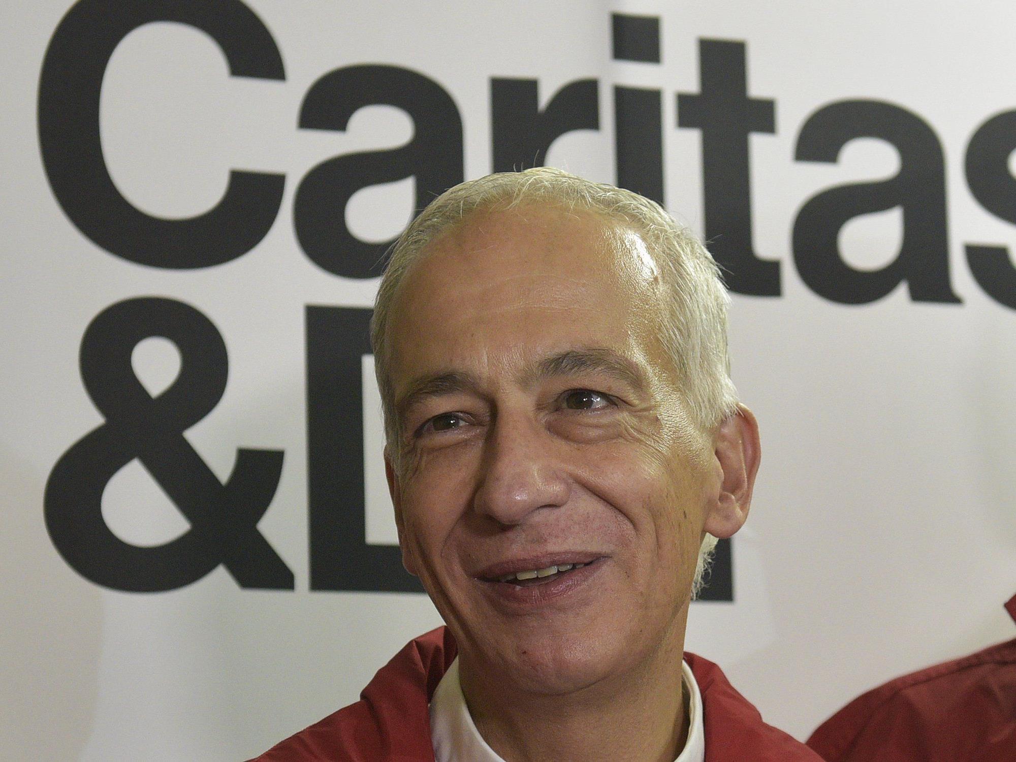 Präsident Michael Landau ist mit der Arbeit der Caritas zufrieden.
