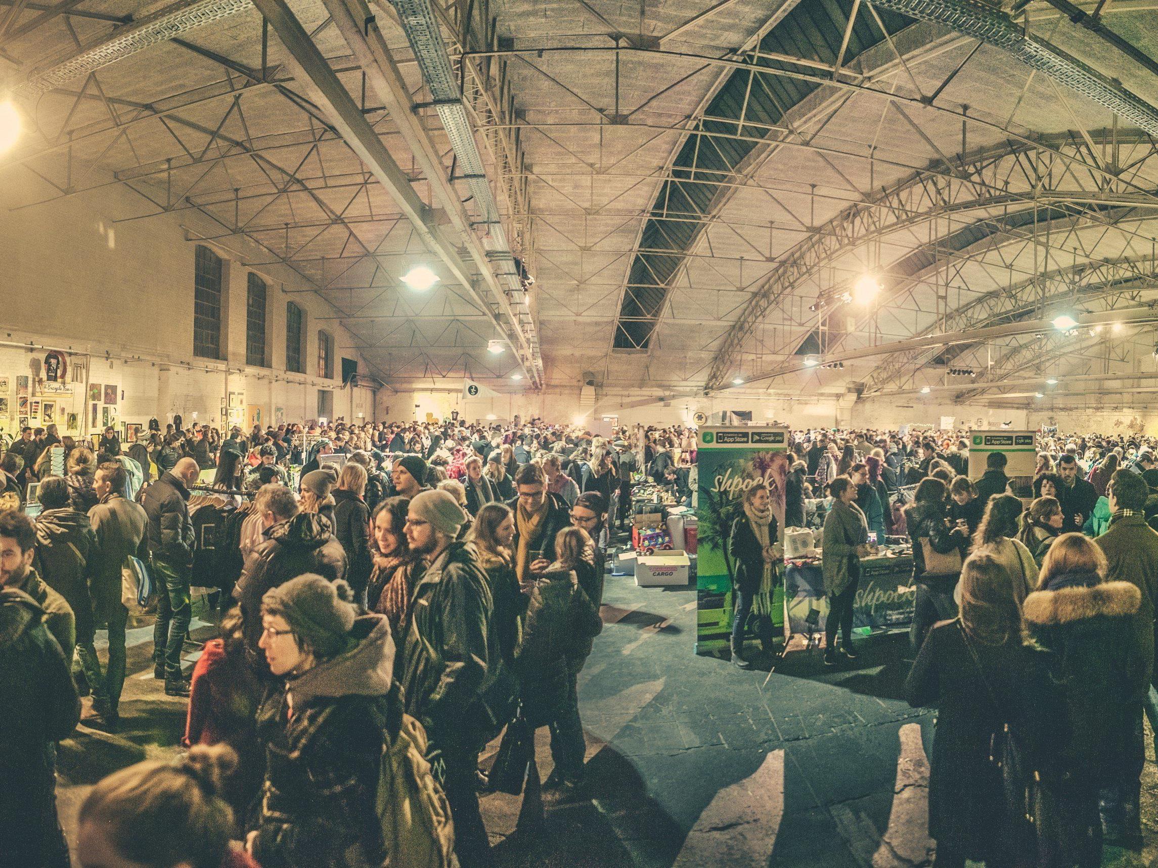 Wien's erster Nachtflohmarkt