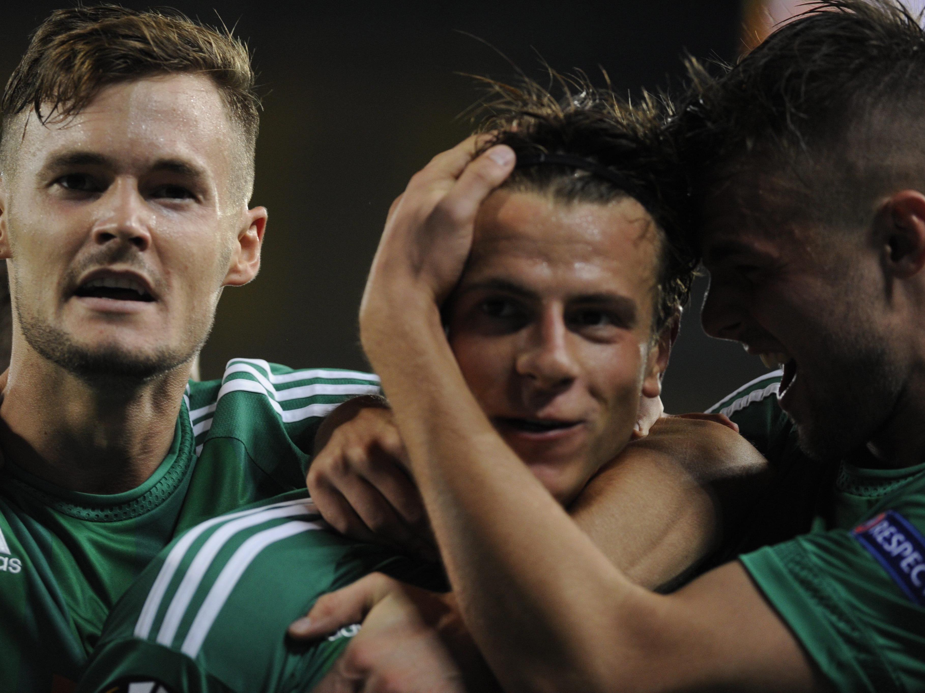 Fußball: 2:1-Heimsieg von Rapid zum EL-Auftakt gegen Villarreal