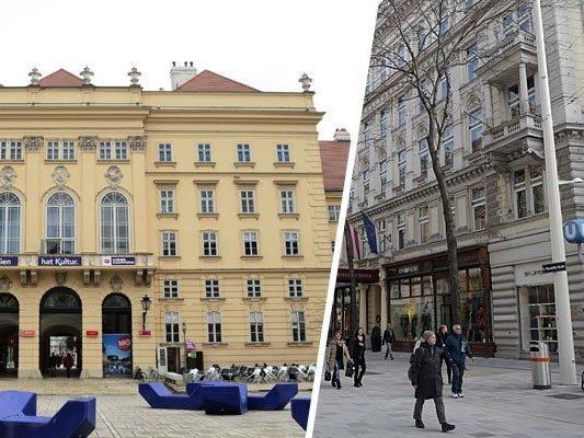 Ob Kultur im MuseumsQuartier oder Shoppen auf der Mariahilfer Straße - Wien-Neubau hat einiges zu bieten