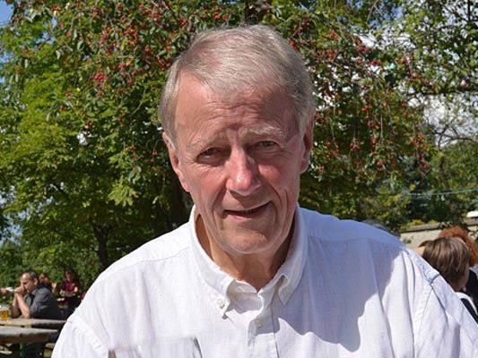 Hans Jörg Schimanek, der Spitzenkandidat der Liste WIFF