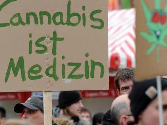 In Wien wird einmal mehr für die Legalisierung von Cannabis demonstriert