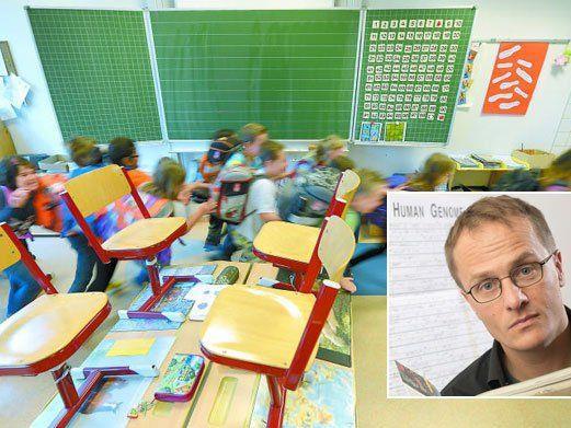 Österreichs führender Genetiker fährt mit dem Bildungssystem hart ins Gericht.