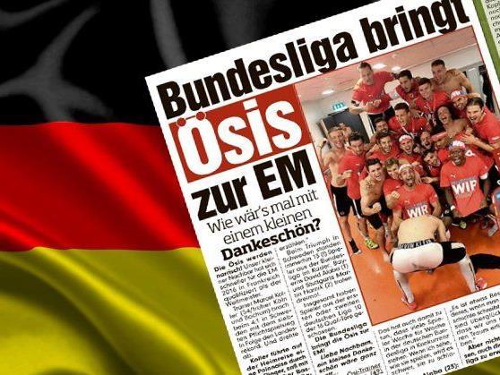 Die Bild-Zeitung fordert ein Dankeschön von den Österreichern.