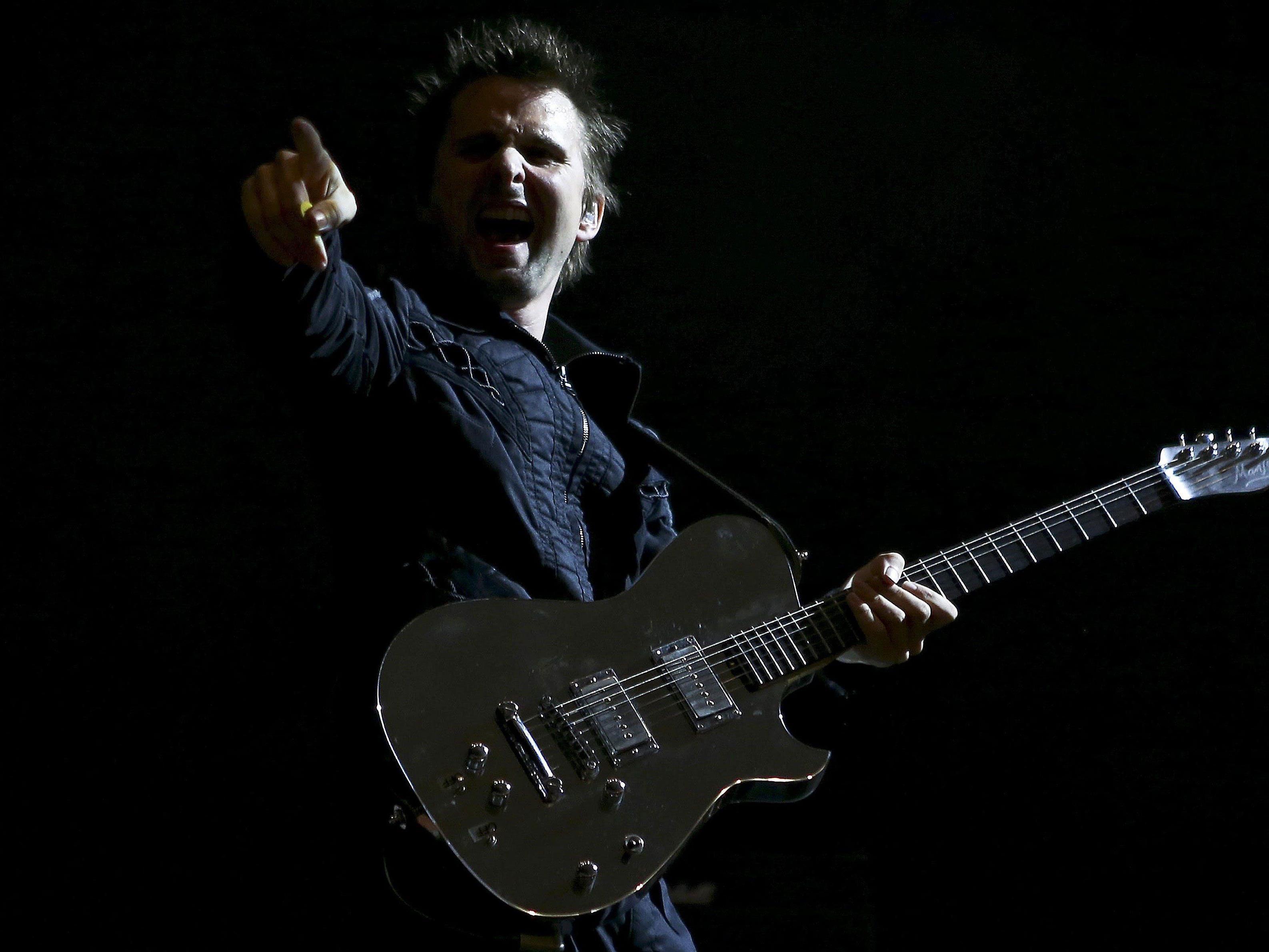 Muse wollen ihre Fans in der Wiener Stadthalle begeistern.
