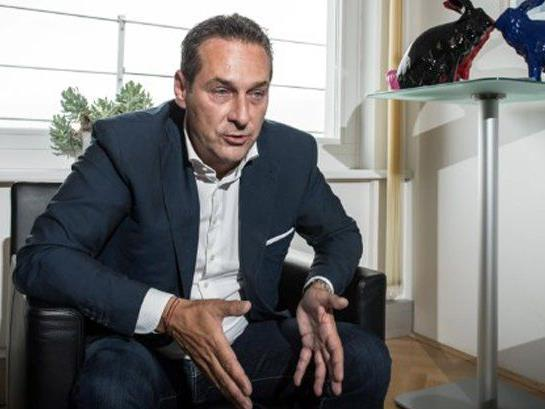 Heinz Christian Strache (FPÖ) im Interview mit fischundfleisch.com.