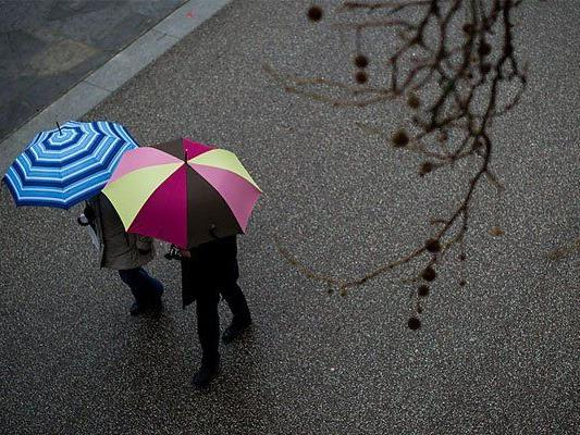 Regen und Abkühlung gibt es am Wochenende