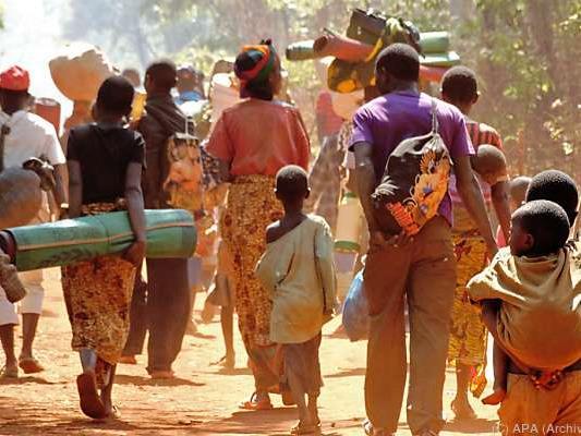 Immer mehr Menschen verlassen Burundi