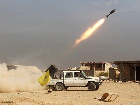 Irakische Kräfte auf dem Vormarsch