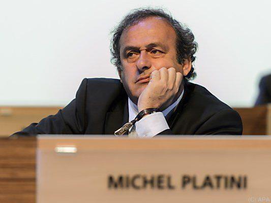 """Platini bezeichnete Entscheidung als """"Farce"""""""