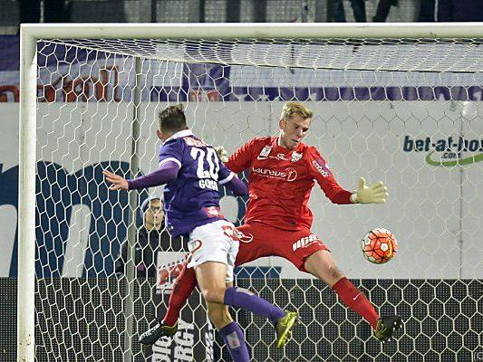 Die Partie bei der Austria war vorerst Swetes letztes Spiel für Grödig