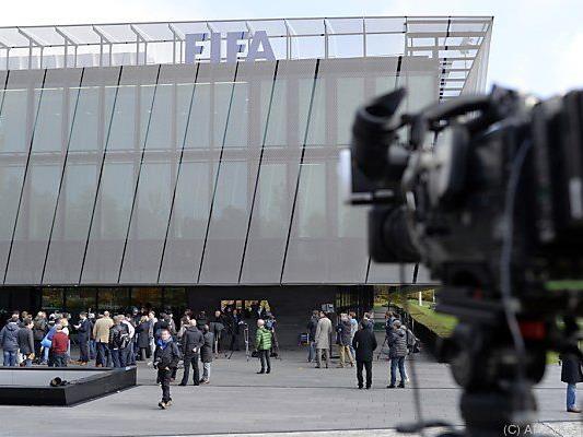 FIFA-Exekutivkomitee tagte in Zürich