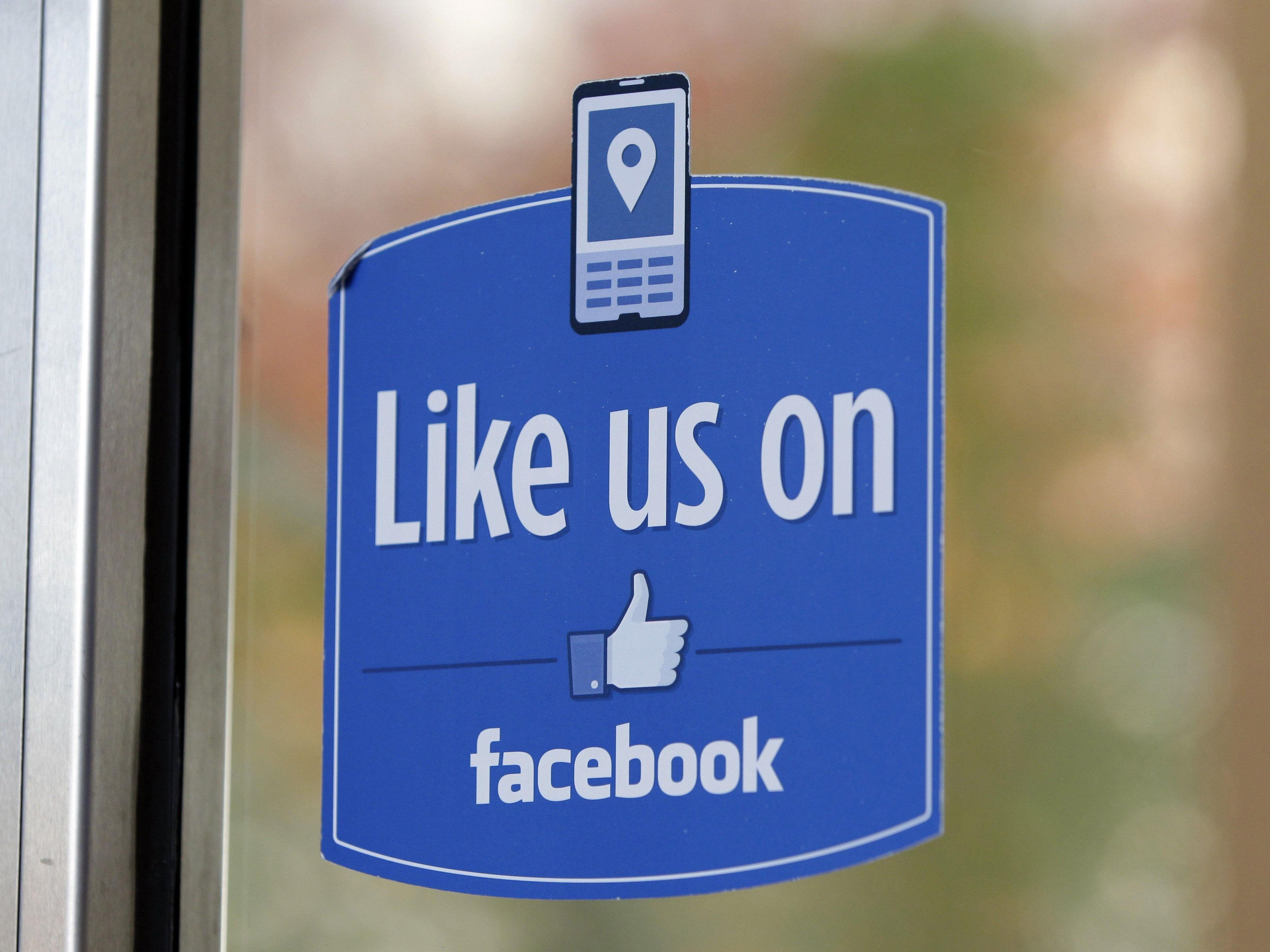 """Facebook testet derzeit eine Erweiterung des """"Gefällt mir""""-Buttons."""