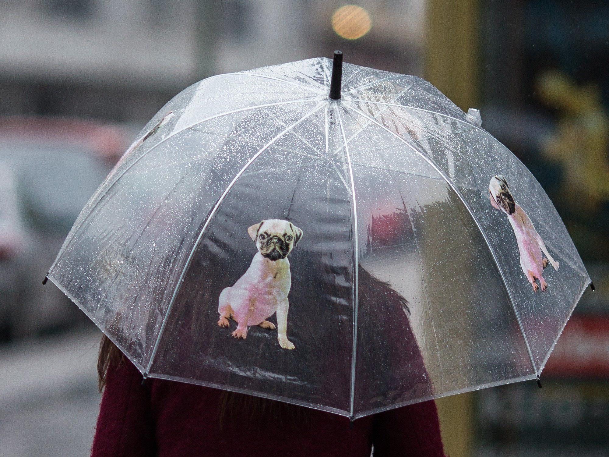 Das Wetter verschlechtert sich zum Wochenende