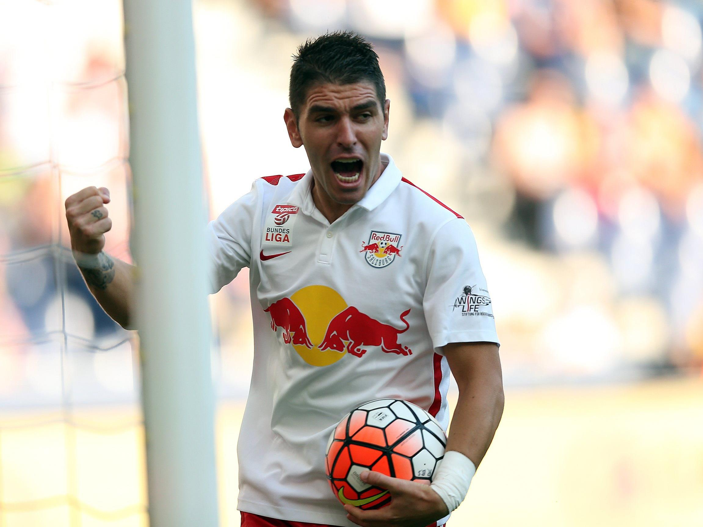 Jonathan Soriano glänzte zuletzt mit einem Viererpack gegen Mattersburg.