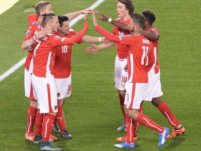 Österreich feierte gegen Liechtenstein den 9. Sieg im 10. EM-Quali-Spiel.